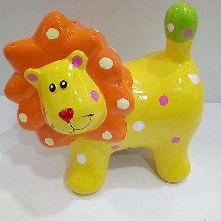 tirelire-lion-jaune-maison-et-cadeaux