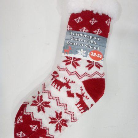 chaussette-rouge-et-bl-32-36-maison-et-cadeaux