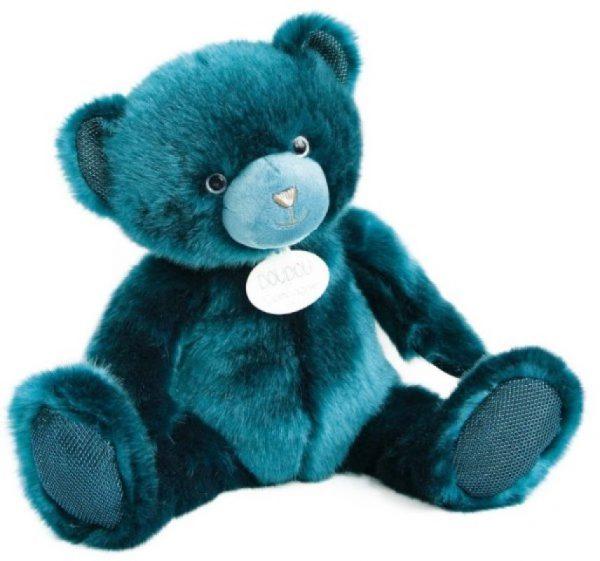 ours-collection-bleu-paon-37-cm-maison-et-cadeaux