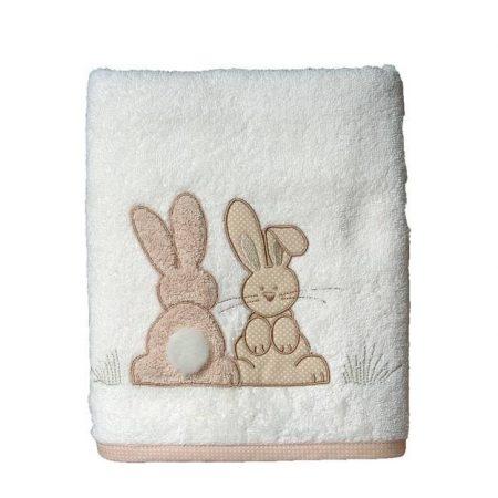 serviette-50x100cm-brodee-pompon-le-lapin-maison-et-cadeaux